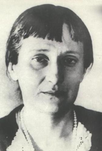А.А. Ахматова. 1940 г.