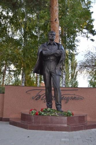 Памятник Б. Пастернаку в Чистополе