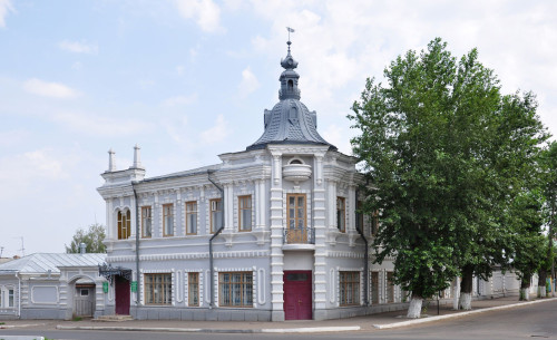 дом+мещанина++Мельникова+в+Чистополе