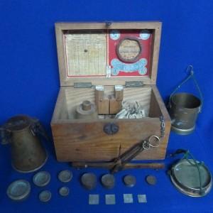 Весы хлебные, пурка, прибор для определения натуры зерновых хлебов П.Рааше. Рига. 1896г.