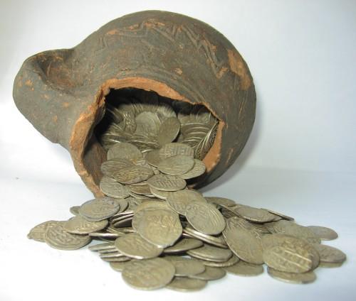 1.Клад булгарских монет 1966 г.