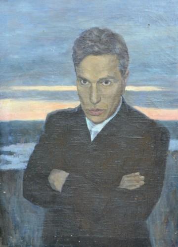 3.Портрет Б. Пастернака работы В.Д. Авдеева. Чистополь, 1942-1943 годы