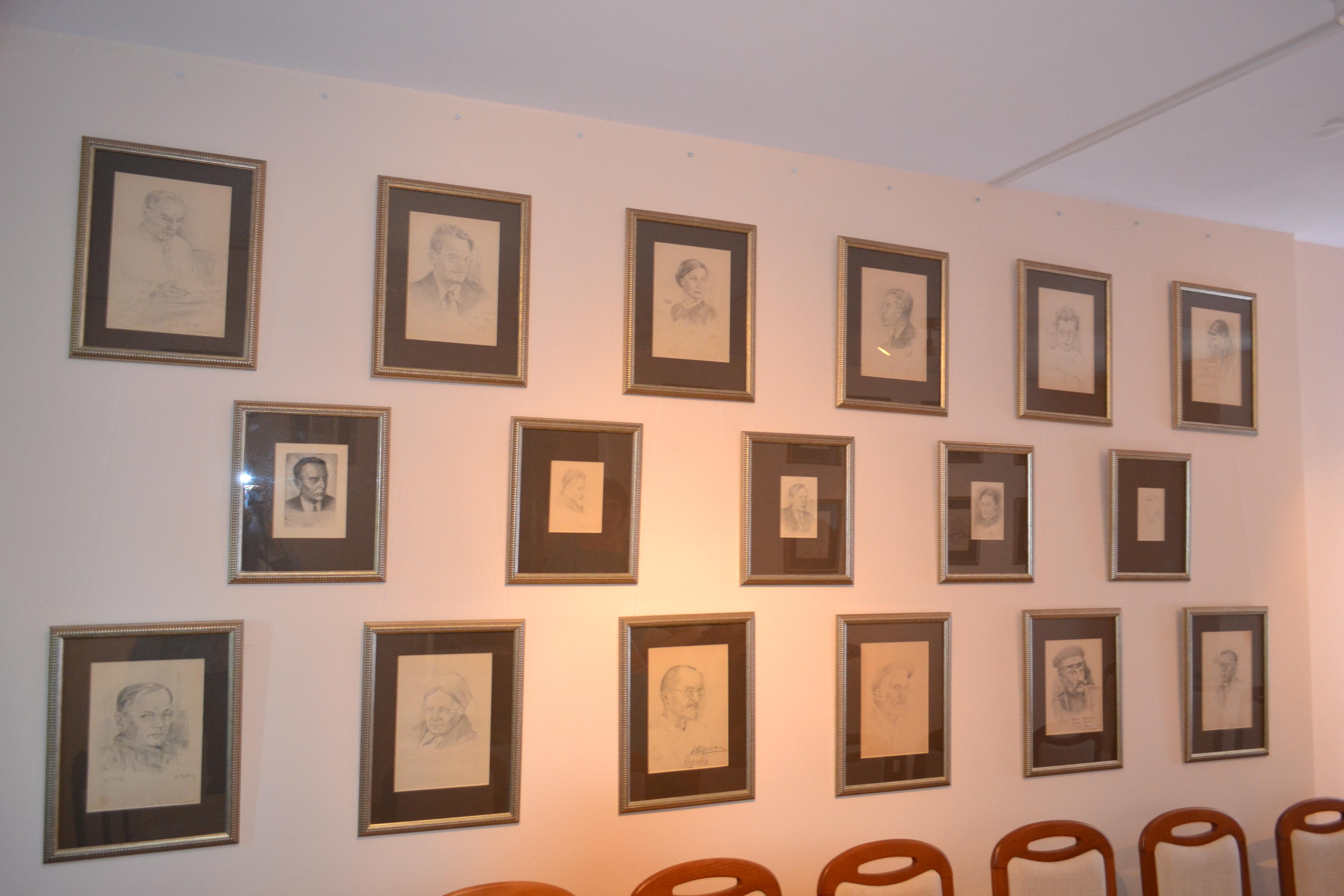 5б Коллекция карандашных рисунков И.Нестерова