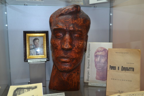 7. Скульптурный портрет Б.Пастернака