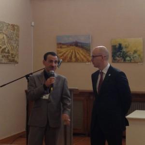 Геннадий Шаталов и Сергей Иванов на презентации семинара