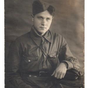 Спирин Василий Петрович, командир партизанского отряда, сражавшегося под Ленинградом. 16 сентября 1942г.