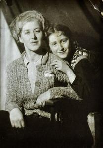 Л.Чуковская с дочерью