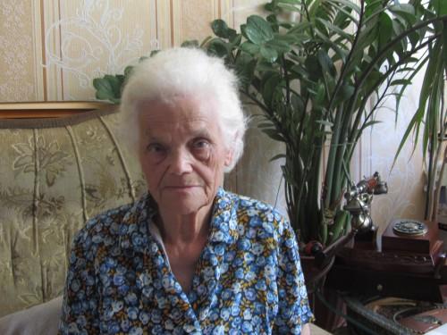Труженица тыла, часовщица Лидия Баранова, эвакуированная в Чистополь вместе с заводом. Во время интервью 11 июня 2013г
