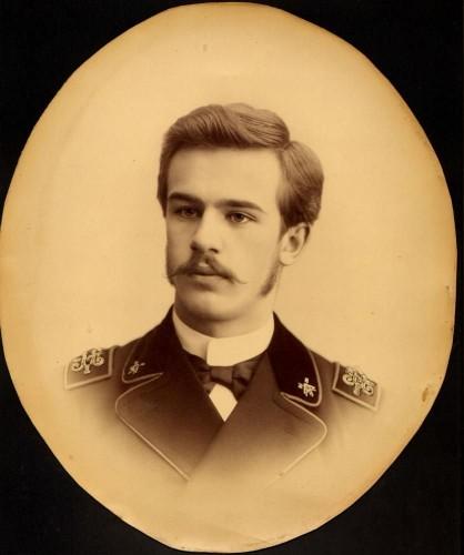 А.И. Дмитриев в молодости