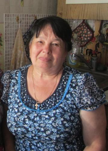 Внучка младшего лейтенанта Александра Вострухина - Валентина Чистякова