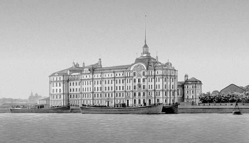 Здание Училищного дома имени Петра I (ныне Нахимовское военно-морское училище), 1909—1911 гг. 1