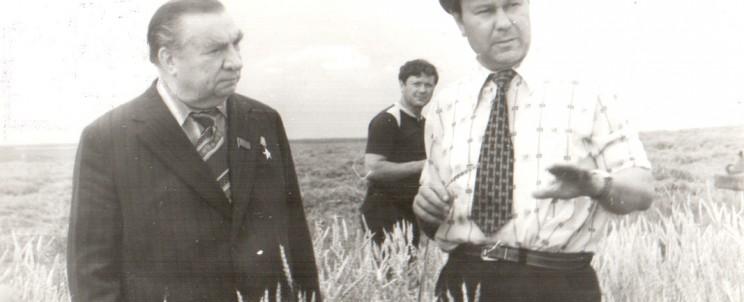 Полющенков Г.Г с Г.И. Усмановым. Сер. 1970-х гг.